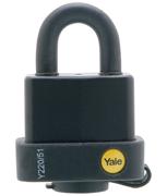 Yale Y220 Weatherproof 51mm Steel Padlock