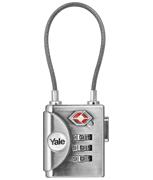 Yale YTP3 TSA Soft Shackle Combination Padlock
