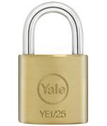 Thumbnail of Yale YE1 Essential 25mm Brass Padlock