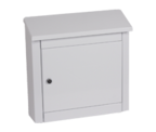 Thumbnail of Moda White - Steel Post Box