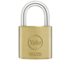 Thumbnail of Yale YE1 Essential 25mm Brass Padlock