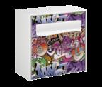 Thumbnail of Street Art Design - Steel Post Box