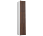 Probe 3 Door - Walnut Timberbox Locker