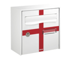 Thumbnail of England Design - Steel Post Box