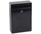 Thumbnail of Letra Black - Steel Post Box