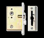 Thumbnail of Union 2D Waterloo - Locking Flat Pattern Latch (70mm, Aluminium)