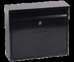 Thumbnail of Correo Black - Steel Post Box