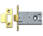 Legge 3709LK - Flat Pattern Latch (76mm, Polished Brass)