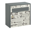 Thumbnail of Retro Design - Steel Post Box