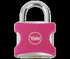 Thumbnail of Yale YE3 32mm Pink Aluminium Padlock