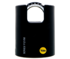 Thumbnail of Yale Y121 Black Jacket 50mm Brass Padlock