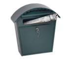 Thumbnail of Clasico Green - Steel Post Box