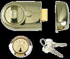 Yale Y3 - Standard Night Latch (60mm, Polished Brass)