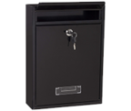 Thumbnail of Simplex Black - Steel Post Box